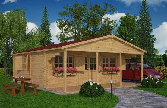 Dinan-casas de madera