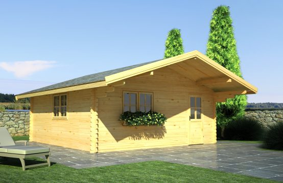 Niza-casetas de madera