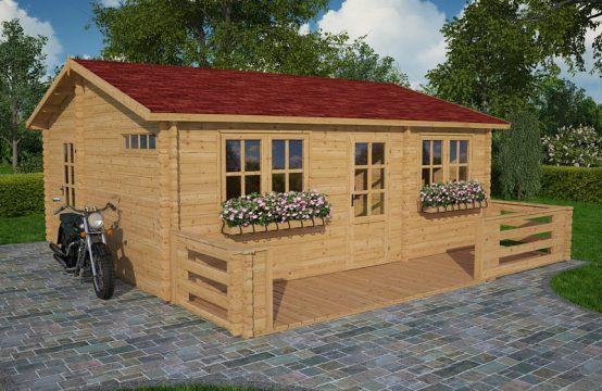 Alto-casa de madera