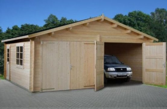 Garaje36C doble-garajes de madera