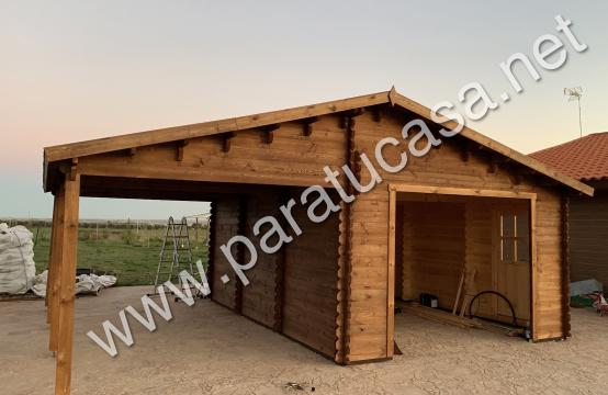 Garaje+carport 44mm, 40m²