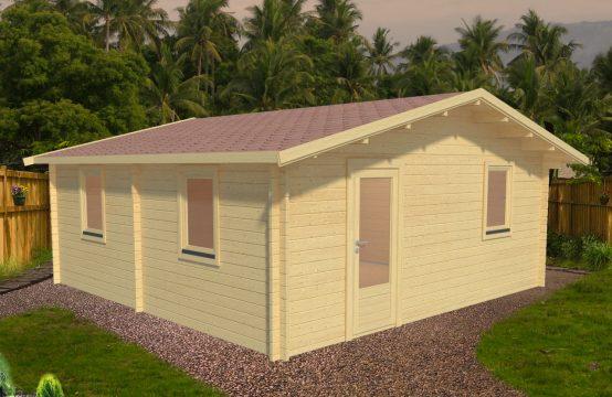 Casa de madera Baena