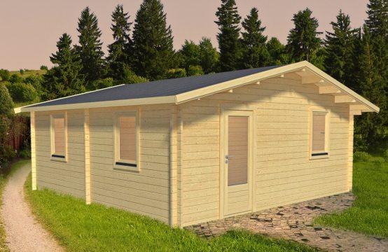 Casa de madera Lucena